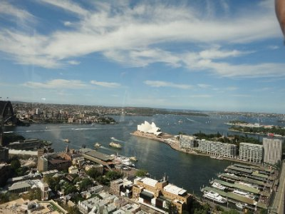 View from Shangri-La Sydney
