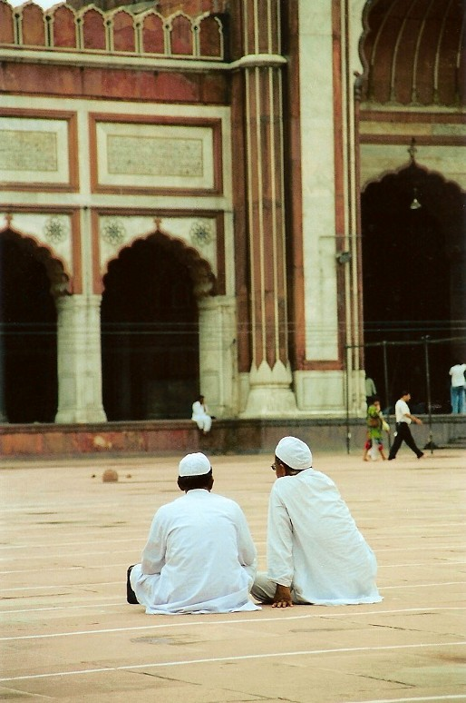 Mosque Visitors