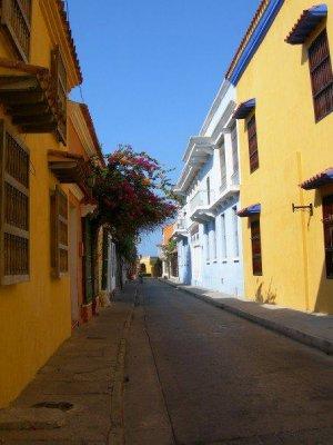 Cartagena Alleyway