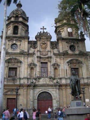 La Plazuela san Ignacio, Medellin, Colombia