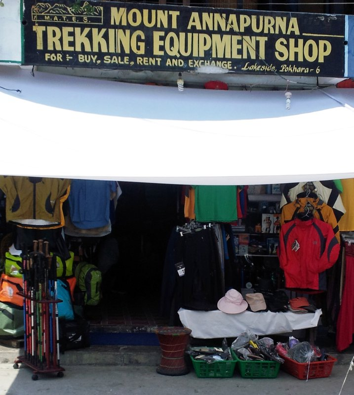 Mount Annapurna Trekking Equipment Shop