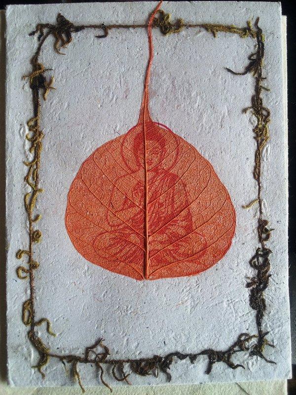 Buddha Paper Card
