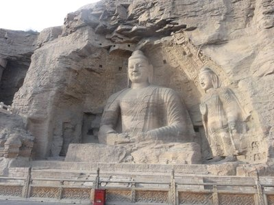 Yungang- Beautiful giant Buddha statue