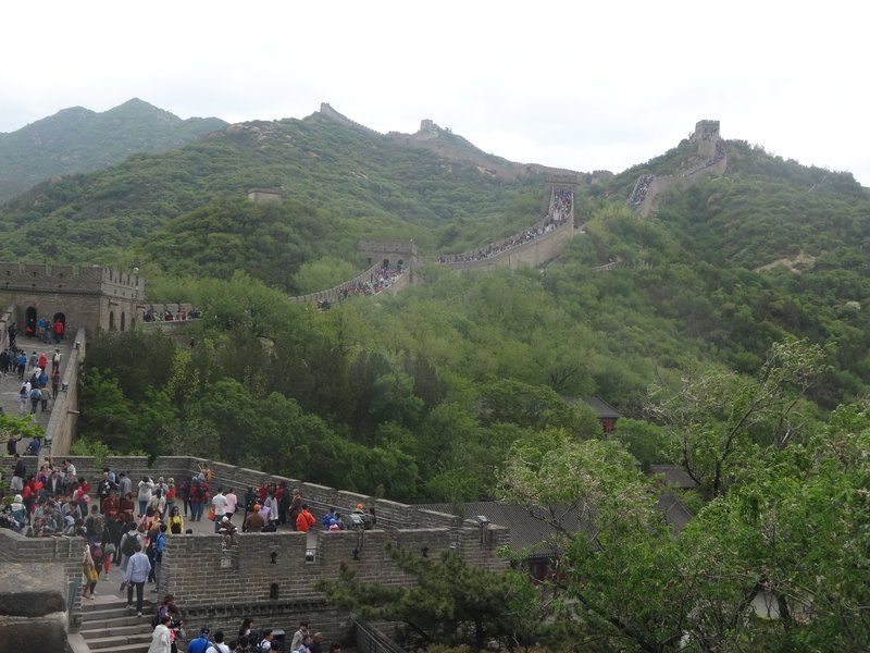 Badaling Great Wall - crowded as compared to Mutianyu