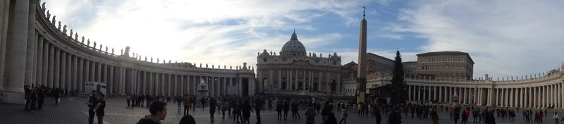 Vatican City paranomic shot