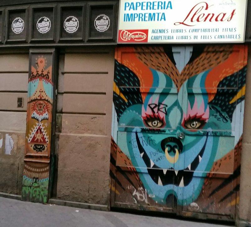 street art bacelona