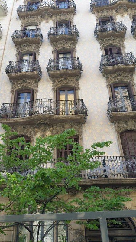 ornate architecture Barcelona
