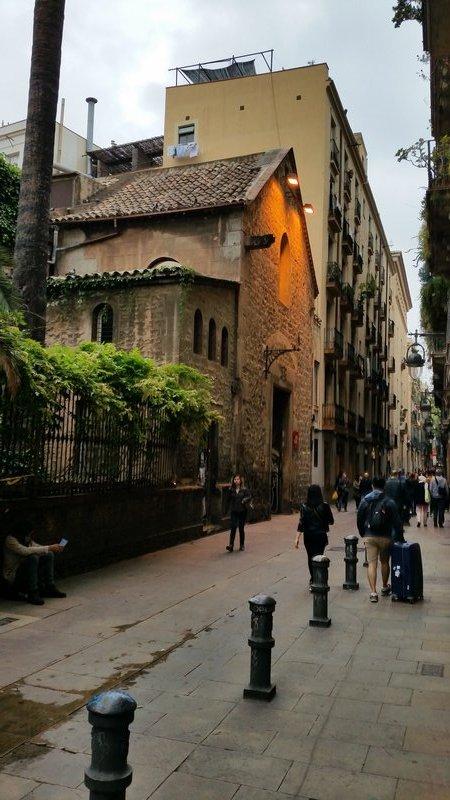 side street  Barcelona