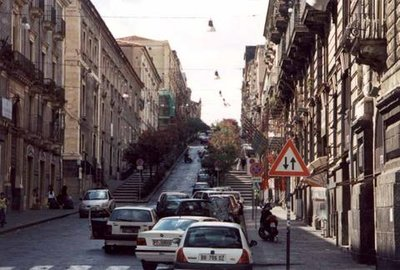 Downtown Catania