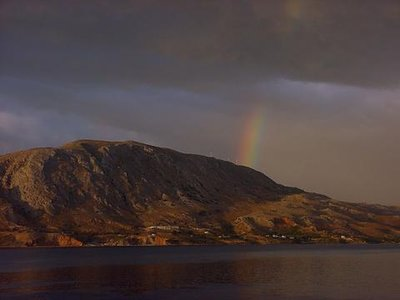 Souda Bay Rainbow