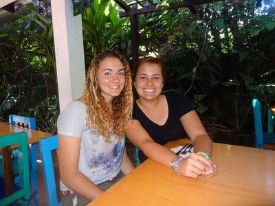 This amazing lady was with me the time I was in Guatemala. We have grown to be great friends. This picture was taken in a little café in Panajachel a day before I left.