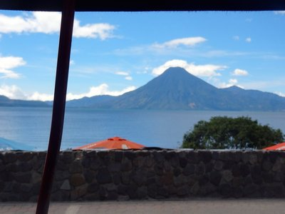 In Panajachel, there is a body of water called Lake Atitlan. Pictures never quite to it justice.