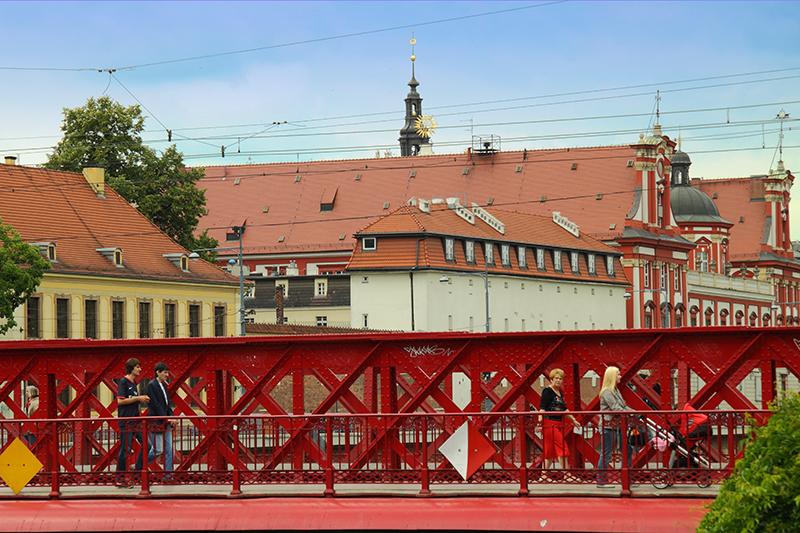 Wroclaw, Sand Bridge