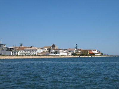 View across the marina, Faro