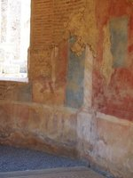 Roman painting, Merida (behind theatre)