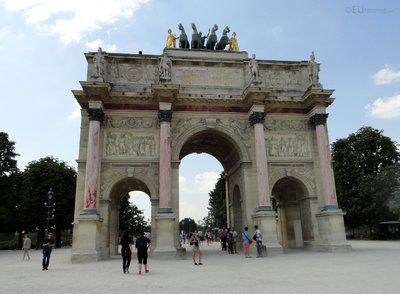 Details of The Arc de Triomphe du Carrousel