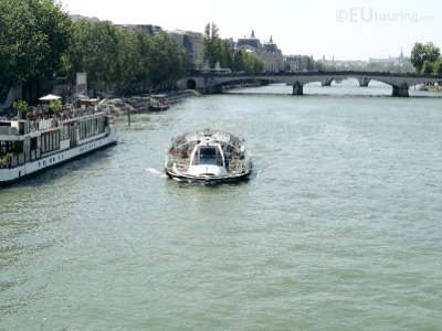 Batobus going along the River Seine
