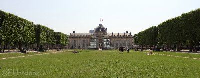 Training ground of the Ecole Militaire