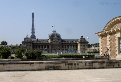 Ecole Militaire and the Eiffel