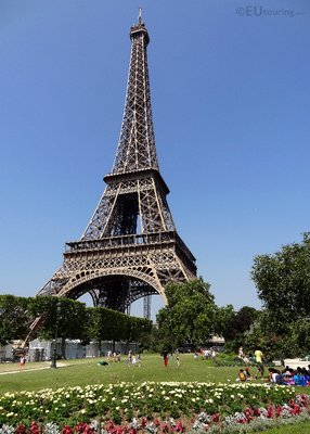 Gardens and Eiffel Tower