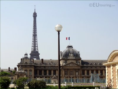 The Ecole Militaire and the Eiffel Tower
