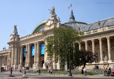 Front of the Grand Palais