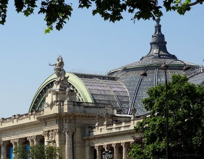 Roof of the Grand Palais