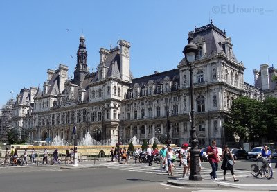 South side of the Hotel de Ville
