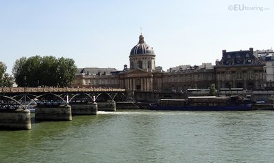 Pont des Arts to the Institut de France