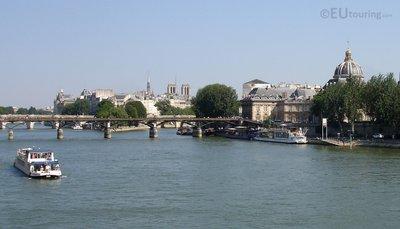 River Seine, bridge and Institut de France