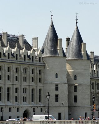 Two towers of La Conciergerie