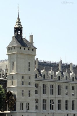 Roof and side of the La Conciergerie