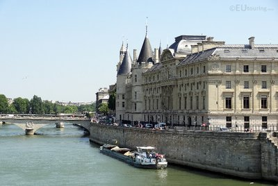 The side of the Conciergerie