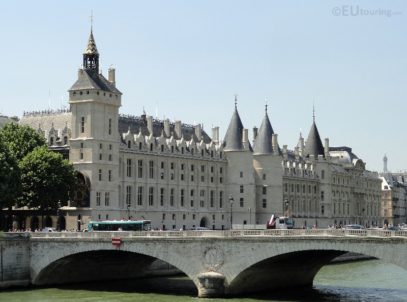 Pont au Change next to the La Conciergerie