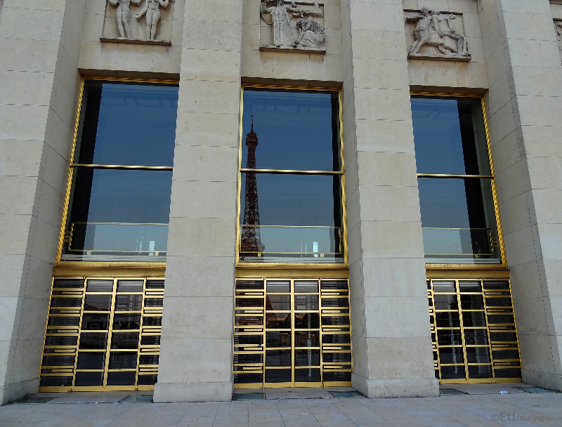 Doors and reflections at Palais Chaillot