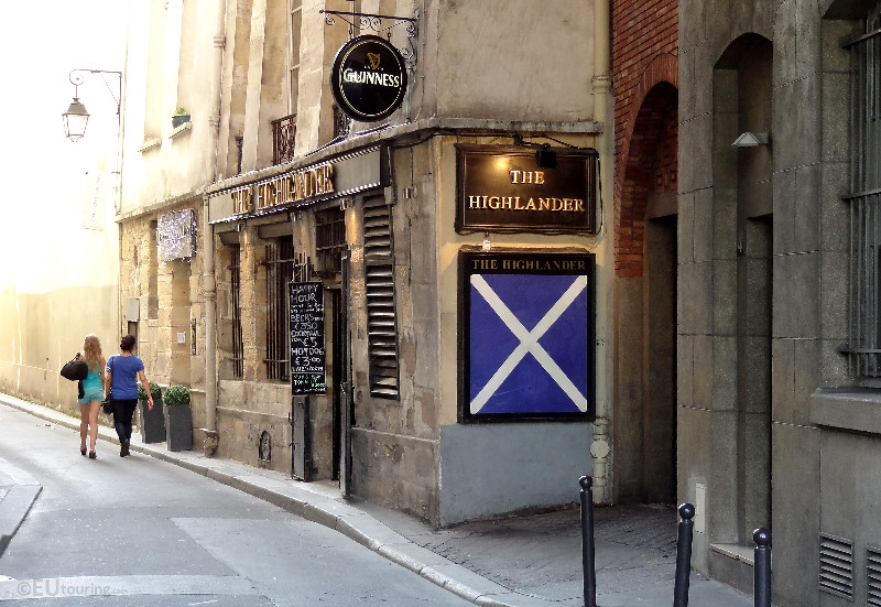 The Highlander in Paris