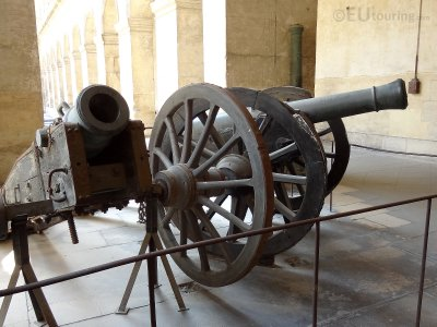 Artillery artefacts at Les Invalides