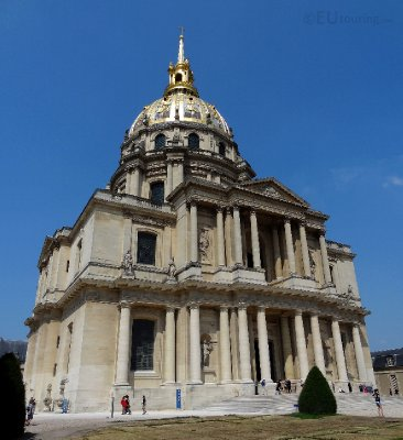 Back of Les Invalides