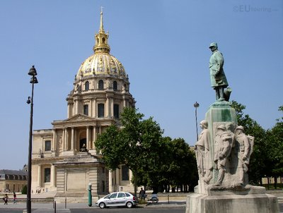 Marie Emile Fayolle and Les Invalides