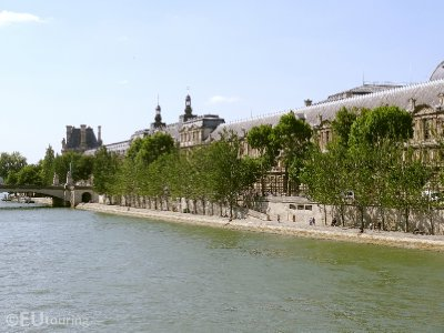 Photo of Louvre from the River Seine
