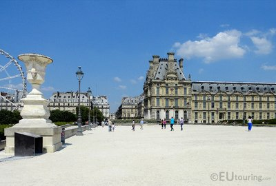Over an Avenue towards the Louvre