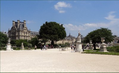 The Louvre from the Tuilleries