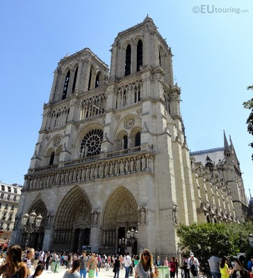 Front of the Notre Dame
