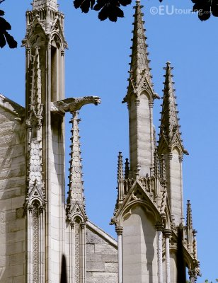 Steeples and Gargoyles at the Notre Dame