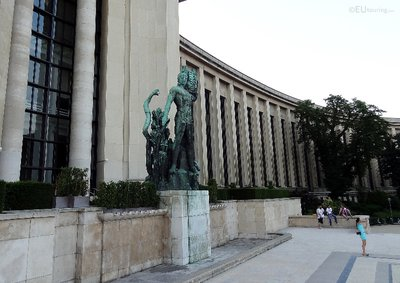 Right wing of the Palais de Chaillot