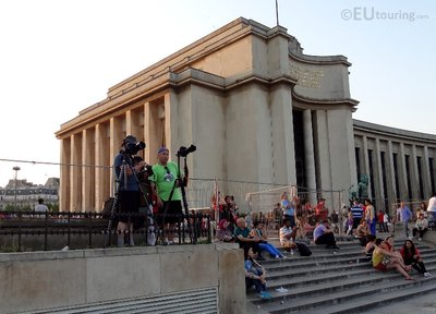 Photographers at Palais de Chaillot
