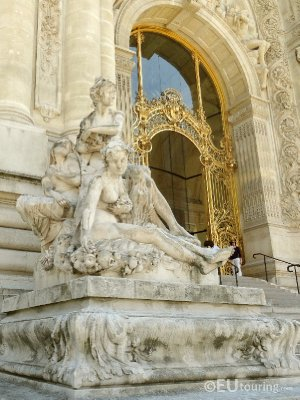 Entrance gate to Petit Palais