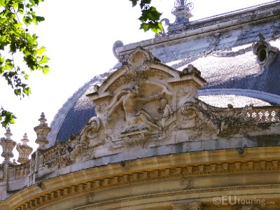 Stone sculptures at Petit Palais