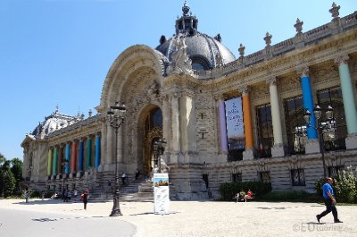 The front of the Petit Palais
