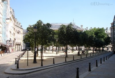 Triangular square of Place Dauphine